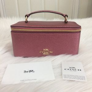 Coach Vanity Jewelry Makeup Case